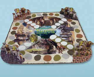 Shrek Forever After Board Game papercraft
