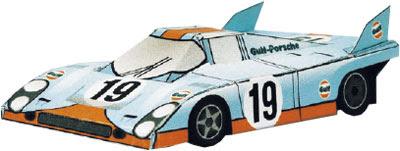 Porsche 917 Papercraft