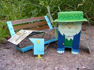 Das Hobo Papercraft