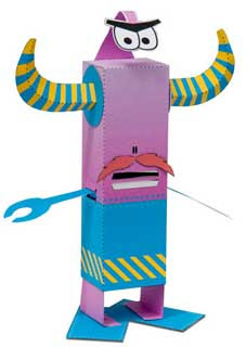 Odd Bot Papercraft