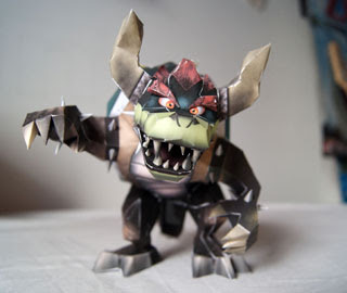 Giga Bowser Papercraft
