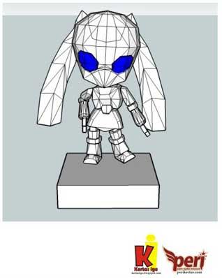Nendoroid Drossel Papercraft