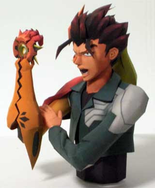 Scryed Papercraft Kazuma