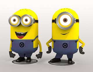 Despicable Me Papercraft Minions