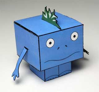 Chrono Trigger Papercraft Nu