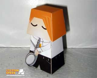 Jazz Saxophone Player Papercraft