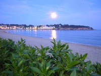 la luna antes del eclipse