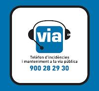 telefono de incidencias y mantenimiento de la via publica de l'Hospitalet