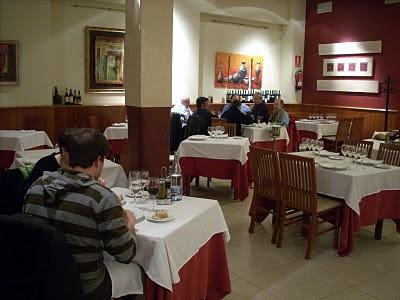 restaurant 25 Roselles de l'Hospitalet, la foto es de BlogHospitalet