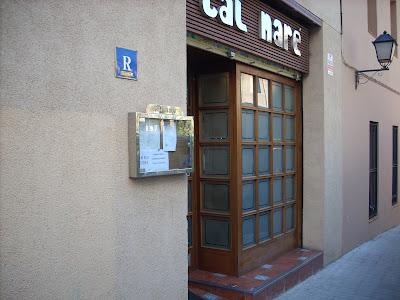 restaurante Cal Nare de l'Hospitalet, la foto es de BlogHospitalet
