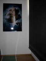 la foto de Jordi, ya colgada en Graceland