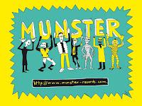 Uno de los dibujos de Mauro Entrialgo, parte de la historia de Munster Records