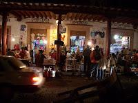 ambiente nocturno en Patzcuaro