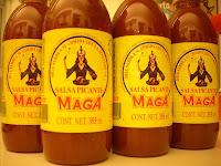 Las botellas de salsa maga, mi tesoro
