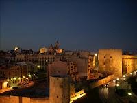 Las vistas se agradecen, Tarragona al anochecer
