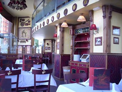 interior del restaurante la tagliatella, foto de Xavi Masip