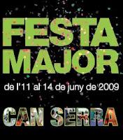 Fiesta Mayor de Can Serra en l'Hospitalet, cartel