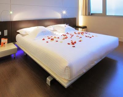 una de las habitaciones del Hotel Prestige Congress de l'Hospitalet