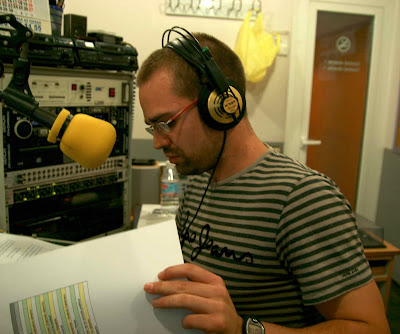 José Ángel García es el presentador de Abierto a la ciudad, foto de Rafa Saucedo