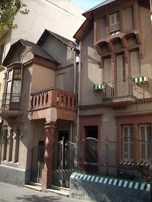 las casas baratas de Ramón Puig Gairalt, l'Hospitalet de Llobregat