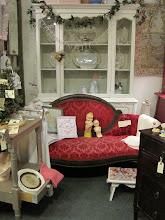 little Victorian settee