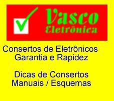 Visite o site da Vasco Eletrônica