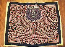 MOLA (art textile des Indiens Kuna)