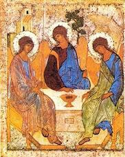 Teofania de la Stejarul Mamvri - Sfântul Andrei Rubliov