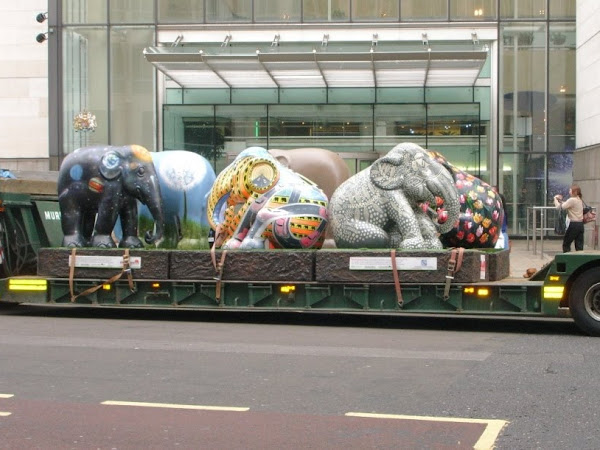 Elephants in London???