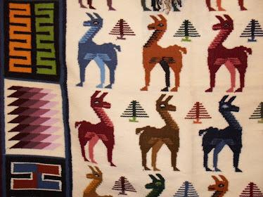 tapiz llamas