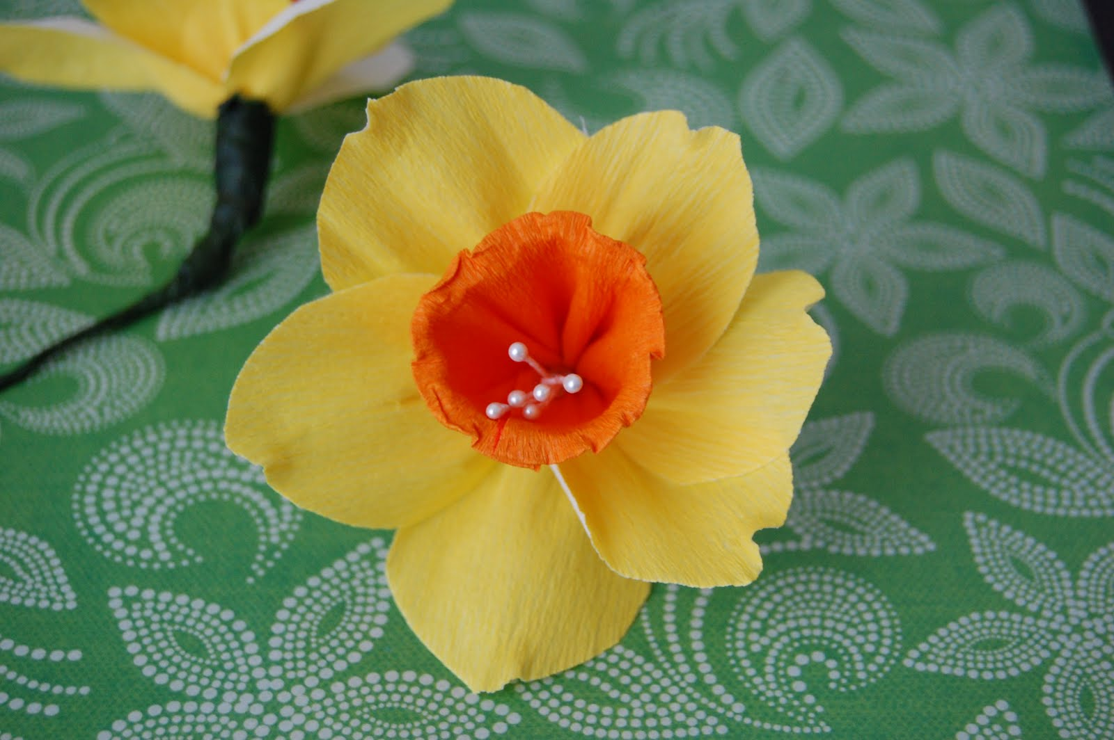 daffodil flower essay Make faux crepe paper daffodils, an easy seasonal flower craft and decoration for spring, with this how-to from morgan levine on the martha stewart show.