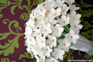 stephanotis wedding bouquet
