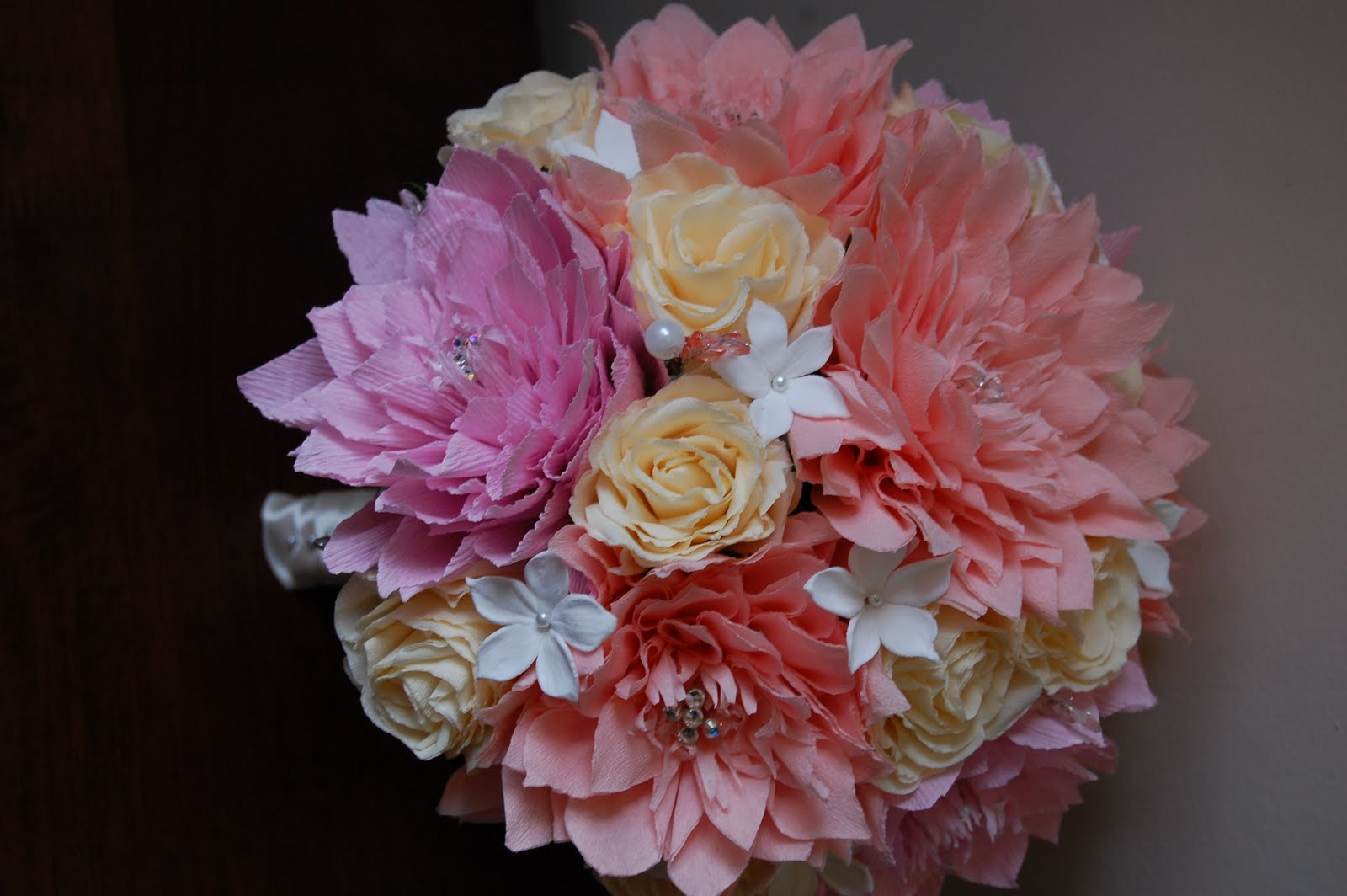 Luxury red tissue paper flowers component top wedding gowns tissue paper flower bouquets physicminimalistics izmirmasajfo