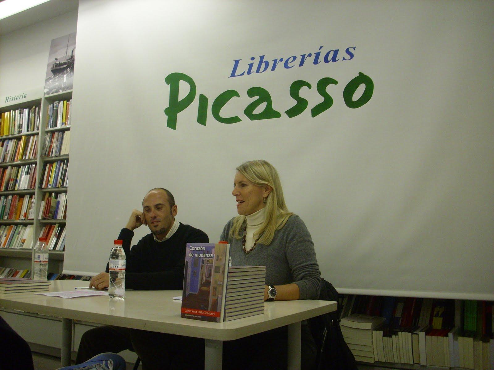 Presentaci n en granada libreria picasso - Libreria picaso granada ...