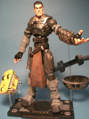 Custom Starkiller action figure by da man.