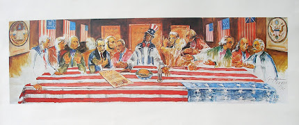 Nixon's Last Supper__________Sold