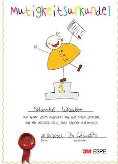 Courage Certificate (Mutigkeitsurkunde)