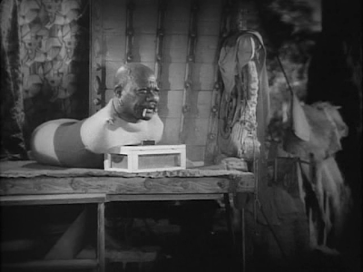 Tod Browning. Freaks. worm man