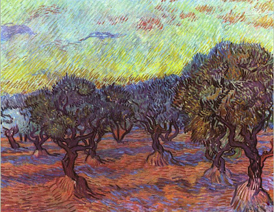 Van Gogh Olive Grove