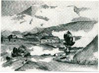 McDowell.Mont sainte victoire photo for comparison