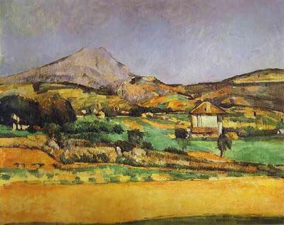 Cézanne. Plain by Mount Sainte-Victoire