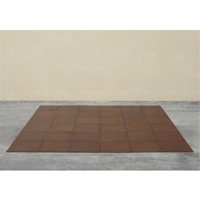 Carl André. 36 copper square  1968
