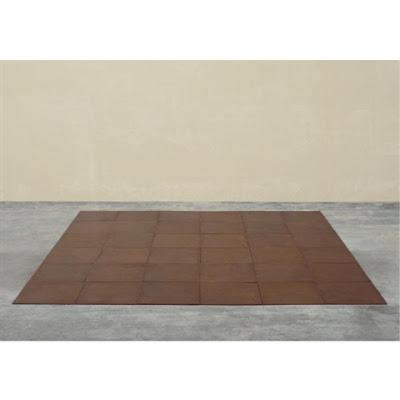 Carl André. 36 copper square  1968