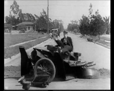 Buster Keaton. The Three Ages