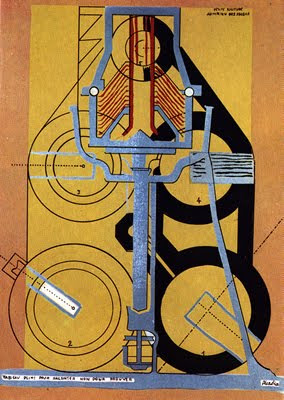 Picabia A little solitude amidst the suns
