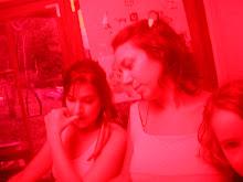 Tati, Fau, Lorena meninas cor-de-rosa...
