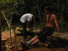 Alexandre narrando e Tiago