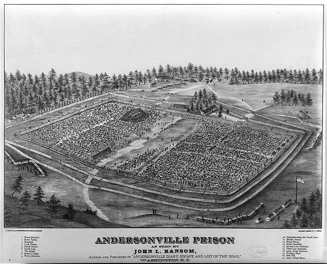 history of andersonville prison essay The prison at andersonville, officially called camp sumter, was the south's largest prison for captured union soldiers and known for its unhealthy conditions and high death rate.
