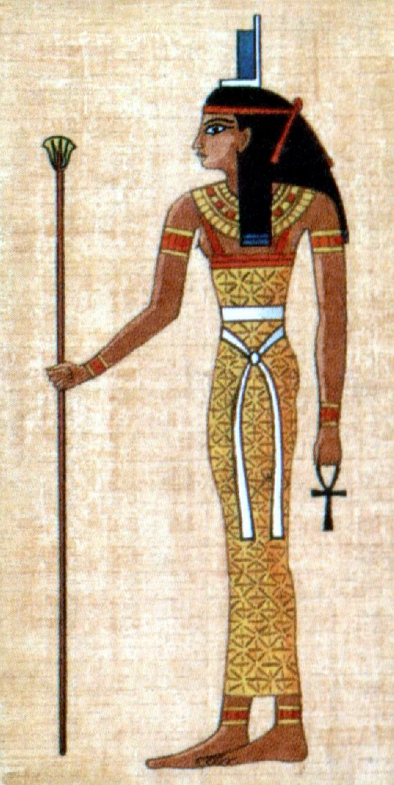 Isis fetish of osiris