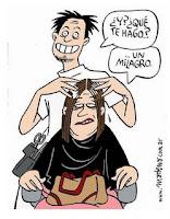 milagro en la peluqueria